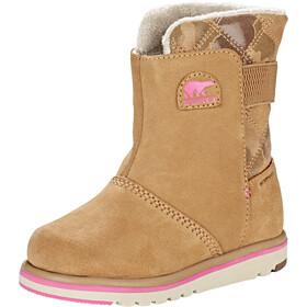 Sorel Rylee Kozaki Dzieci, elk/pink ice